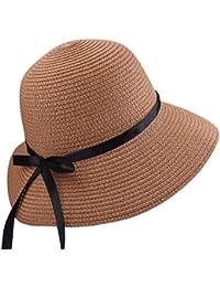 Amazon.it  cappello di paglia - Unica   Donna  Abbigliamento fac5443cd5fa