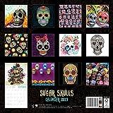 Image de Sugar Skulls wall calendar 2017 (Art calendar)