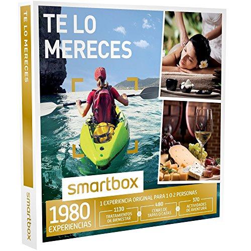 SMARTBOX - Caja Regalo - TE LO MERECES - 1980 experiencias como masajes, menús...