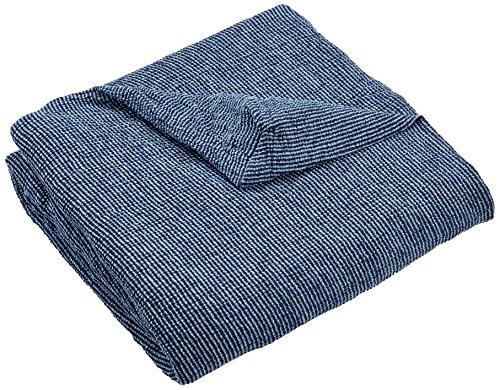 Zebra Textil 43658 Ohrensessel elastisch husse Orion, blau