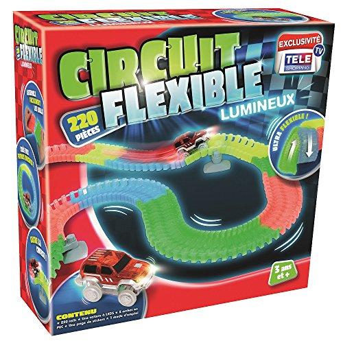 Circuit Flexible et Lumineux 220 pcs – Le circuit de voitures dont les rails se tordent...