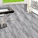 TPulling Neue Exquisite Mode 3D Holz Aufkleber selbstklebende Bodenbelag Aufkleber Simulation Holzboden Aufkleber Küche Schlafzimmer Wohnzimmer Boden PVC Aufkleber (J)