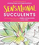 Sensational Succulents: An Adult Coloring Book of Amazing Shapes and Magical Patterns by Debra Lee Baldwin (2016-06-01)