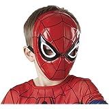Avengers - Máscara de Spiderman para niño, talla única (Rubie's 35634)