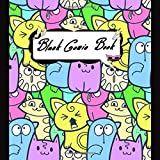 BLANK COMIC BOOK: Variety of Templates for Kids, Adults and Artists of All Levels: Create Your Own Comics, Manga and Design Sketchbook (Square Book ... Comic Action Templates) | Drawing Book Kitten