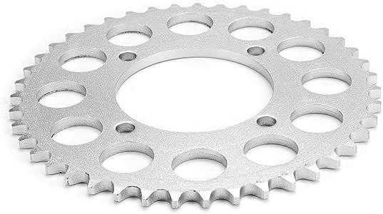 Yctze Pignon arri/ère de cha/îne 420 cha/îne 43 Dents pour 125cc 140cc 150cc 160cc Moto Dirt Bike