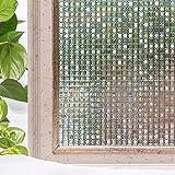 Cottoncolors-privacy Window film, vetro adesivi per casa, cucina, ufficio, Vinile, 35.4Inx78.7In