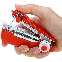 Envogue Pocket Portable Mini Manual Stapler Style Hand Sewing Machine Craft, Clothes Stitch Handheld Cordless, Travel…