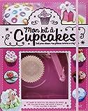 Mon kit à cupcakes : tout pour réussir mes gâteaux comme un chef ! : Avec 2 moules en papier, 1 cuillère en bois, 4 cuillères à mesurer, 1 poche à douille et 4 embouts