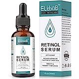 Retinol Serum – 2,5% retinol contenido Sistema con Vitamin C & Vegan ácido hialurónico – Reparación Piel, Cicatriz, Mancha Os