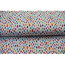 Plástico/Niños/metro/A Partir de 25cm/mejor Jersey de calidad/Jersey hilco gotas de lluvia en blanco y multicolor