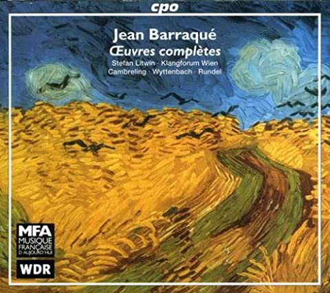 Jean Barraque: Oeuvres complètes