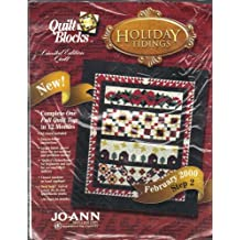 Holiday Tidings - Quilt Block Step 2 - February 2000 by Quilt Blocks Limited Edition