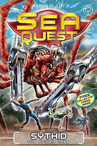 Sythid the Spider Crab: Book 17 (Sea Quest)
