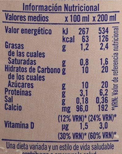 Puleva Batido al Cacao - Pack de 6 x 20 cl -...