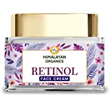 Himalayan Organics Retinol Night Cream for women for wrinkles, lines and skin dullness | with Hyaluronic Acid & Vitamin E | 5