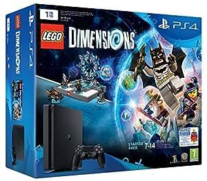 PlayStation 4 1 Tb D Chassis Slim + Lego Dimensions Starter Pack [Bundle]