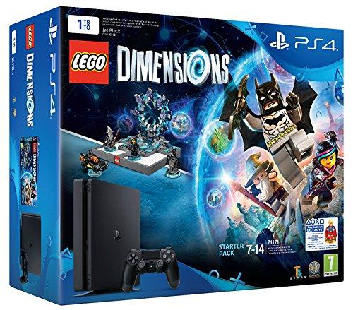 Playstation 4 1 TB D Chassis Slim + Lego Dimensions Starter Pack [Bundle]...