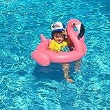 1-3 Kinder aufblasbare Spielzeuge, Reittiere PVC Flamingo auf dem Wasser für einen Sitz im Ring/kleinkind schwimmen