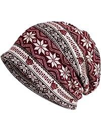 Damen Mütze Beanie feinstrick Mütze Slouch Longbeanie - A200