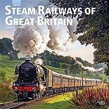 Steam Railways of Great Britain - Britische Dampflokomotiven 2019 - 18-Monatskalender: Original BrownTrout-Kalender