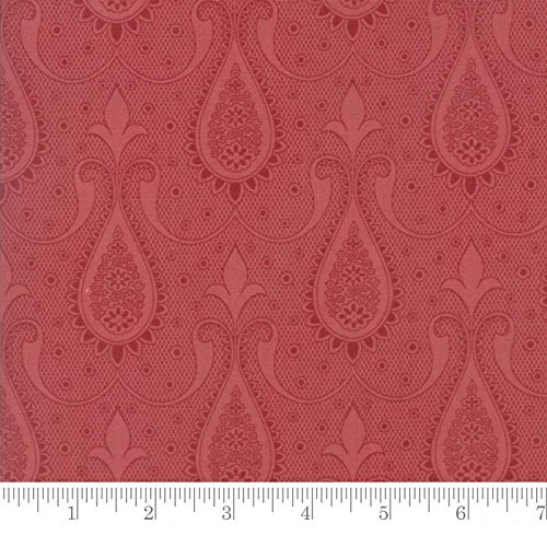 Paisley Mode (Moda Fabric Sweet Blend Paisley Rosemary - Sold Per 1/4 Metre (Long Quarter))