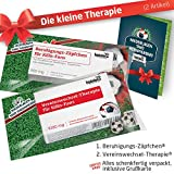 Geschenk-Set: Die Kleine Therapie für FC Köln-Fans | 2X süße Schmerzmittel für 1. FC Köln Fans Fanartikel der Liga, Besser ALS Tasse, Kaffeepott, Becher & Fahne