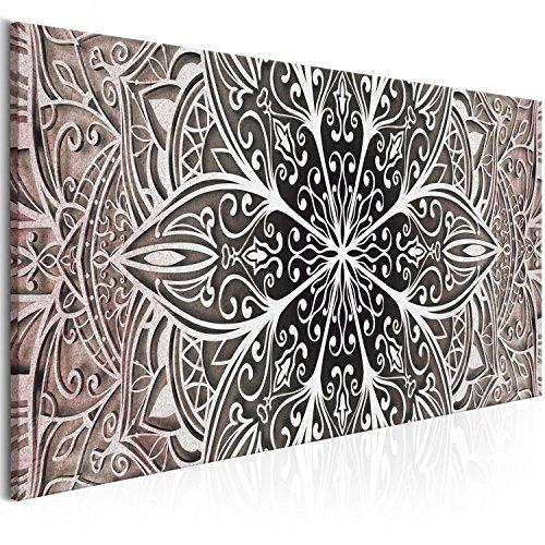Murando Cuadro Mandala 150x50 cm impresión Material