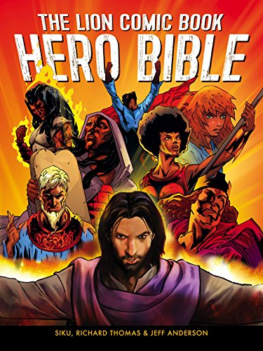 Lion Comic Book Hero Bible por Jeff Anderson