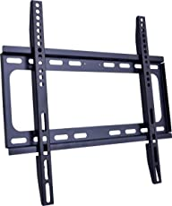 "Z F 1351 F Ultra Slim TV Wall Mount for Most 18""-55"" LCD LED Plasma TV, Some up to 55"" Flat Panel Screen Display with VESA 100x100 200x100 200x200 300x200 400x300 400x400 Low Profile TV Bracket"