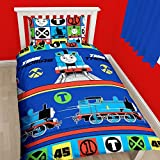 Thomas The Tank 'Team' Single Duvet Set - Repeat Print Design