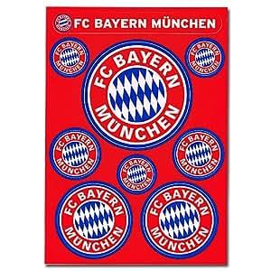 FC Bayern Aufkleber Set Logo: Amazon.de: Sport & Freizeit