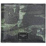 Dolce & Gabbana herren Geldbeutel camouflage verde