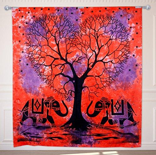 Tapiz tradicional CraftVatika para pared, con diseño del árbol de la vida...