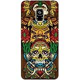 MADANYU Tribal Art Love For Tribal Art Traditional Skull Art Designer Printed Hard Back Shell Case For Samsung A7 2018