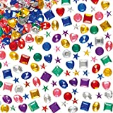 Gemme Acriliche - Confezione Risparmio (1000 pezzi)