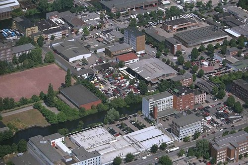 MF Matthias Friedel - Luftbildfotografie Luftbild von Ausschläger Weg in Hamburg (Hamburg), aufgenommen am 30.07.99 um 12:41 Uhr, Bildnummer: 0782-07A, Auflösung: 3000x2000px = 6MP - Fotoabzug 50x75cm