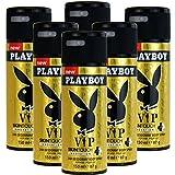 6 x Playboy VIP Deo 150ml
