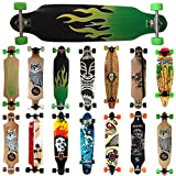 MAXOfit Deluxe Cruiser Longboard Green Fire No.13