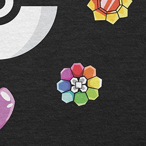 Texlab–Poke Gems–sacchetto di stoffa Nero