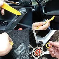 boldion (TM) 1set 12pcs autoradio Porta clip pannello Trim Dash Audio rimozione Pry Tool Kit in plastica