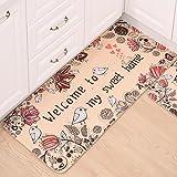 EasyBuy India Lovely Non-slip Kitchen Mats Sweet Floor for Living Room