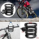 #9: Bike Handlebar Drinking Cup Mug Mount Rack Plastic Bottle Holder Cages Handlebar Mounted Can Carrier