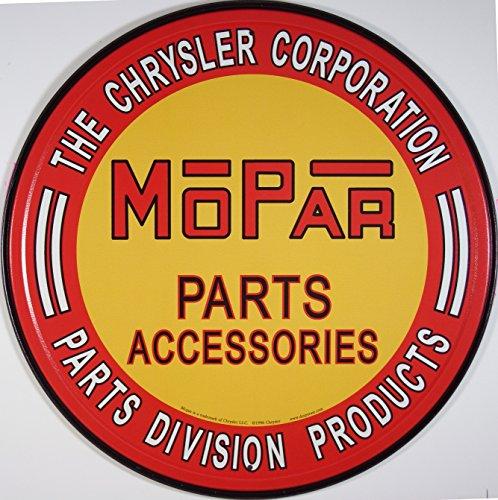 chrysler-mopar-autoteile-targa-placca-metallo-piatto-nuovo-30x30cm-vs1290
