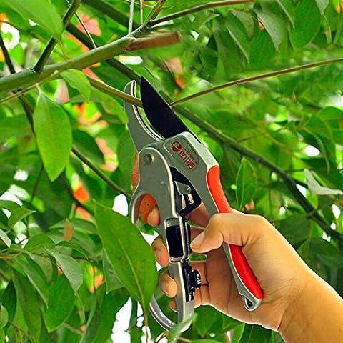 Bluelover 30mm jardinería poda seccional tijeras tijeras rama corte Trimmer