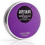 AYAN Naturkosmetik Feuchtigkeitscreme Lavendel ✔ Bodylotion Pflegecreme für sehr trockene Haut ✔ BIO Sheabutter Kokosöl Bienenwachs Macadamiaöl Lavendel ✔ 100ml