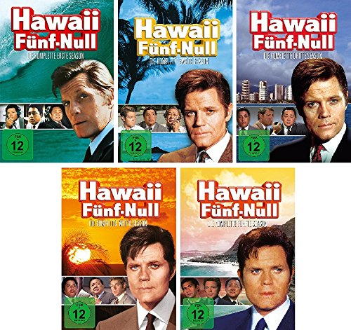 Hawaii Fünf-Null - Die komplette Season 1-5 im Set - Deutsche Originalware [31 DVDs]