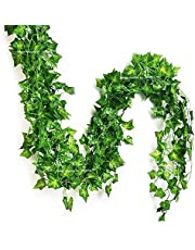 SPHINX Artificial Leaves Garlands/Creepers for Decoration (Shapes/Design as per Stock) - No. of Strands -