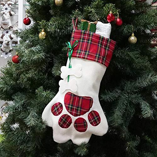 New year calze di natale babbo natale caramelle borsa regalo decorazioni classiche calze di natale calza di natale xmas gift bag xmas tree