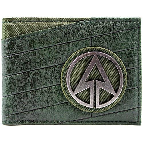 DC-Comics-Arrow-Superhero-Emblem-Black-ID-Card-Bi-Fold-Wallet